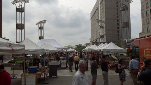 Raleigh City Center Wednesday Farmers Market