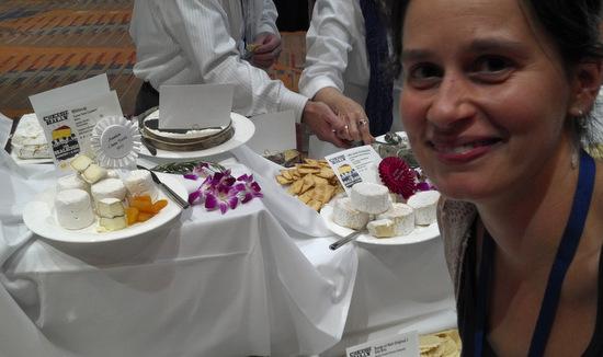 Jamien Shields for Turner Farm Creamery's award winning cheese