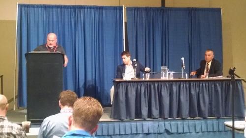ACS President Greg ONeil introduces FSMA Updates panel