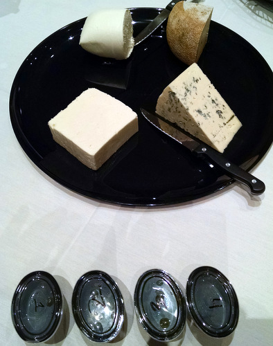 Cheese and olive oil tasting at ACS 2014