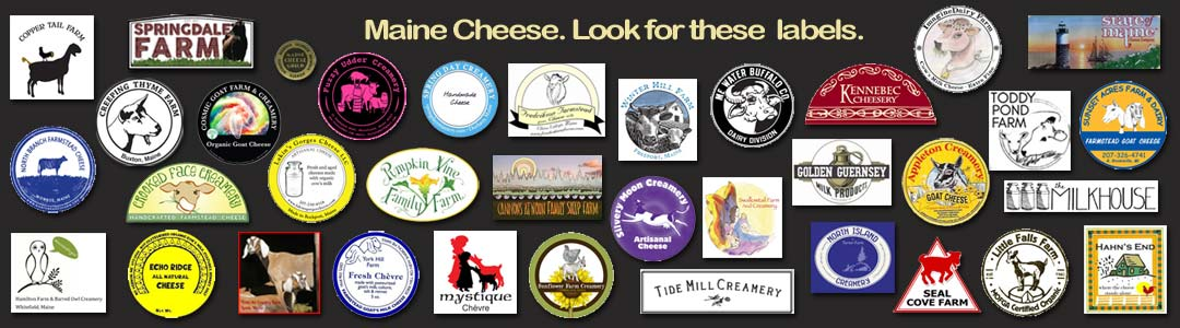 Maine Cheesemaker Labels