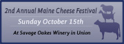 2nd Annual Maine Cheese Festival