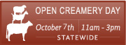 Open Creamery Day Octobe7th 2018