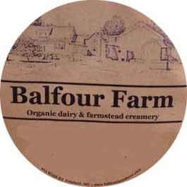 Balfour Farm Label