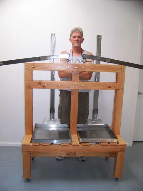 David Peterson cheese press